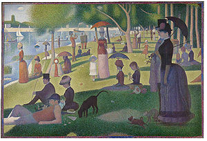 Georges Seurat-A Sunday Afternoon on the Island of La Grande Jatte