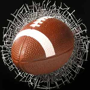 football-head-on