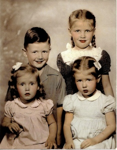 Dad and his sisters