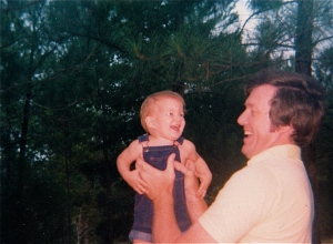 Dad and my brother, Scott