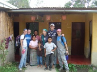 The houses we helped start in 2006, now finished! Guatemala