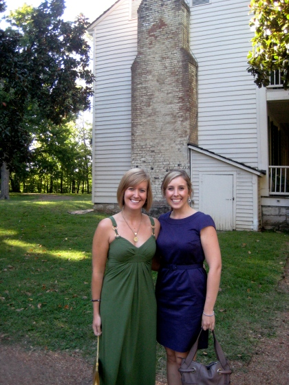 Meghan and I at Meaghan's wedding