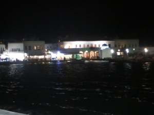 harbor on Mykonos
