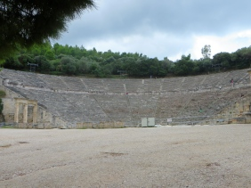 theater at Epidavros