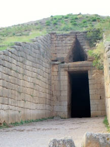 beehive tomb entrance