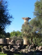 column of Temple of Zeus