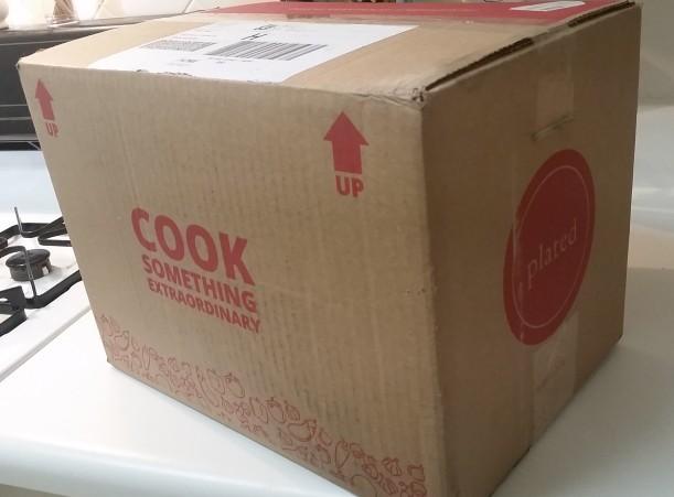 it arrives!