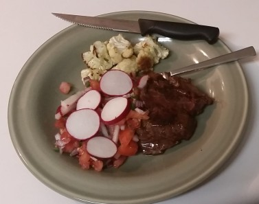 Salvadoran Flat Iron Steak