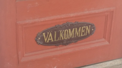 """""""Welcome"""" in Swedish"""
